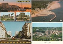 Lot De 100 Cartes (cpm Couleur)---villes Et Villages De France--(pas De Lourdes--paris) - 100 - 499 Karten