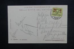 VATICAN - Affranchissement Plaisant Sur Carte Postale Pour La Belgique - L 38376 - Vatican