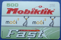 Serbia Prepaid Phone Card. Operator MOBIKLIK 500 Units - Joegoslavië