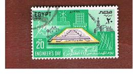 EGITTO (EGYPT) - SG 1396  - 1979  ENGINEERS  DAY - USED ° - Usati
