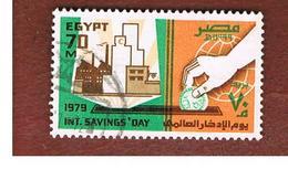 EGITTO (EGYPT) - SG 1399  - 1979  INT. SAVINGS DAY  - USED ° - Usati