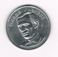 //  PENNING BP  PIERRE  CARTEUS - Souvenir-Medaille (elongated Coins)