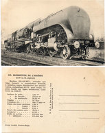 Locomotives De L' Algérie (Ex PLM Algérien) Machine 231 - 132 BT 1  (115368) - Trains