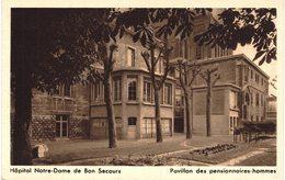 CARTE Postale Ancienne  De ROUEN - Eglise De Bon Secours - Rouen