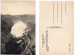 LocomotiveMikado  Du Sud Ouest (Ex P.O) Le Bordeaux-Milan-Strasbourg A St Sulpice-Laurière 5811-5960(115370) - Eisenbahnen