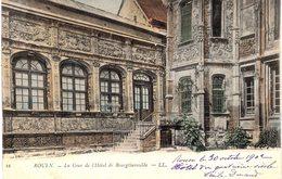 CARTE Postale Ancienne  De ROUEN - Hotel De Bourgtheroule - Rouen