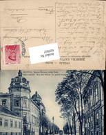 625937,Belgrad Belgrade Serbien Rue Roi Milan Le Palais Royal Straßenansicht - Serbien