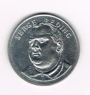 //  PENNING BP  SERGE  REDING - Souvenir-Medaille (elongated Coins)