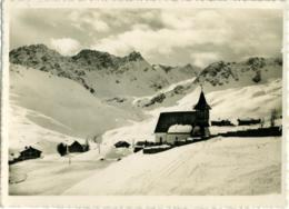SVIZZERA  SUISSE  GR  AROSA  Bergkirchlein Mit Erzhorn - GR Grisons