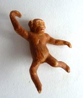 Figurine CLAIRET  - ANIMAUX Animal - LE ZOO - 73 SINGE Pas Starlux Elastolin Ougen Jim Cyrnos - Starlux