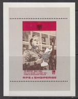 1984 Albania Albanie Revolution Souvenir Sheet  MNH - Albanië