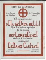 THY-le-CHATEAU - Au Chevet De 'eglise - Walcourt