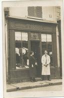 Carte Photo Bourges Boutique Tissus Maroquinerie Articles Voyage  Rue Littré ? Bourbonnoux ? - Bourges