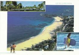 Ile De La Réunion Boucan Canot (2 Scans) - Saint Paul