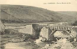 - Finistère -ref-E261- Carhaix - Pont Et Moulin Du Roi - Mouins A Eau - - Carhaix-Plouguer