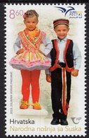 Croatia - 2019 - Euromed - Costumes Of The Mediterranean - Mint Stamp - Croatie