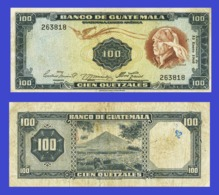 Guatemala 100 Quetzales 1960 - Billets