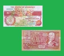 GUERNSEY 20 DOLLAR 1991 - Guernsey