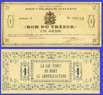 Haiti 1 Gourde  1915 - Haïti
