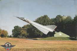 Rare Cpa Base Aérienne 702 Avec Mirage - Avord