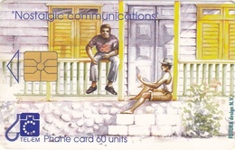 T251 - Saint Martin, Phonecard, TEL - EM, Nostalgic Communications, 17.70 Nafls, Used, 2 Scans - Antille (Olandesi)