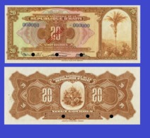 Haiti 20 Gourde  1919 - Haïti