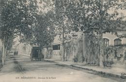 CPA - France - (34) Hérault - Bedarieux - Avenue De La Gare - Bedarieux