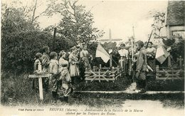 REUVES - ANNIVERSAIRE De La BATAILLE De La MARNE CELEBRE Par Les ENFANTS Des ECOLES - - Altri Comuni