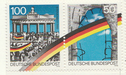 PI -GER - 1990 :1° Anniversario Dell' Apertura Della Cortina Di Ferro E Della Caduta Del Muro Di Berlino  -(Yv  1313-14) - [7] Repubblica Federale