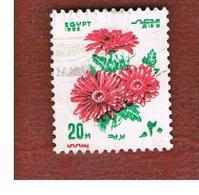 EGITTO (EGYPT) - SG 1510  - 1983  FESTIVALS: FLOWERS  - USED ° - Egitto