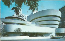 W4204 New York - Guggenheim Museum - Auto Cars Voitures / Viaggiata 1971 - Musei
