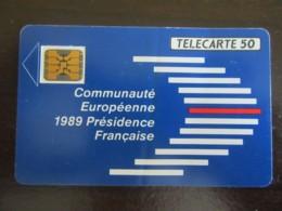Télécarte Communauté Européenne F107A - Puce SC5on Série 108867 (6 N° PE) Rare 20 000 Ex - Frankreich