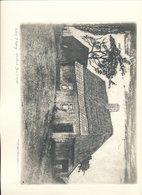 LITHO  FLOBECQ       Artist Fernand VAN LIERDE    24 X 32 CM - Lithographies