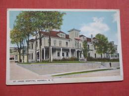 St James Hospital  Hornell     New York   Ref 3536 - NY - New York