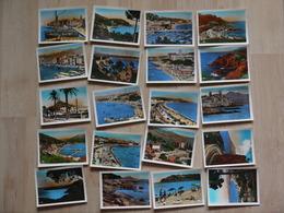 DE TOULON A NICE PAR LA COTE DES MAURES ET LA CORNICHE D OR 20 PHOTO RELLA FORMAT 7 X 10 CM - Photographs