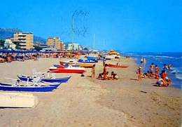Silvi Marina - Teramo - La Spiaggia -. Formato Grande Viaggiata – E 13 - Italy