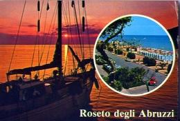 Roseto Degli Abruzzi - Teramo - 71 - Formato Grande Viaggiata – E 13 - Italy