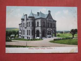 Library  Colgate College  Hamilton   New York   Ref 3536 - NY - New York