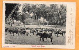 Addah Gold Coast Nigeria 1905 Postcard Mailed - Nigeria