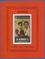 Ajman 1972 Year, Block Mint MNH (**) - Art - Ajman