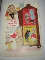 Blok 179** Met De Neus In De Boeken  4002/03**/ Bloc 179 MNH Le Nez Dans Les Livres - Libretti 1962-....