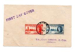 AFRIKA KENYA TANGANYIKA EN UGANDA FIRST DAY COVER 1946 - Stamps