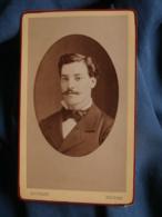 Photo CDV  Edouard à Nevers  Portrait Homme (Rivaillon 1878) - L453 - Photos