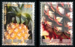 POLYNESIE 2005 - Yv. 755 Et 756 **   Faciale= 1,85 EUR - Ananas (2 Val.)  ..Réf.POL24207 - Ungebraucht