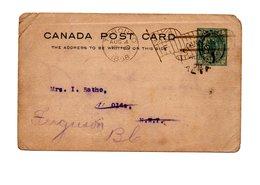 CANADA OLD POSTCARD 1898 - Canada