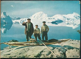 °°° 13395 - GREENLAND - NATIVE SEALERS FROM GREENLAND , FILM QIVITOQ - 1959 With Stamps °°° - Groenlandia