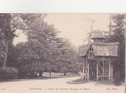 CPA - 176. TOULOUSE - Jardin Des Plantes, Kiosque De Repos - Toulouse