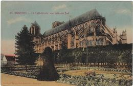 18  Bourges La Cathedrale Vue Laterale Sud - Bourges