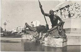 W4208 Buenos Aires - Monumento De Los Espanoles - Detalle / Viaggiata 1952 - Argentina