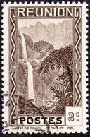Réunion Obl. N° 126 -  Vue -> Bras Des Demoiselles - 2 C Brun-noir - Oblitérés
